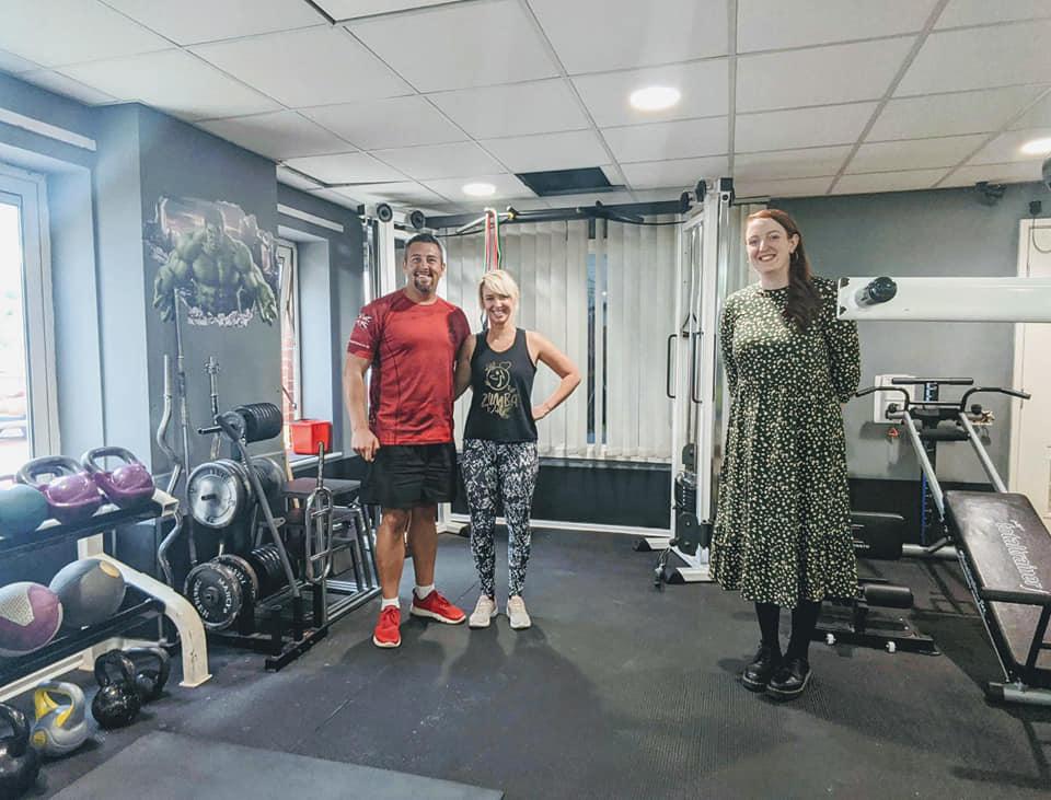 CNichols visit to Ryfields Gym