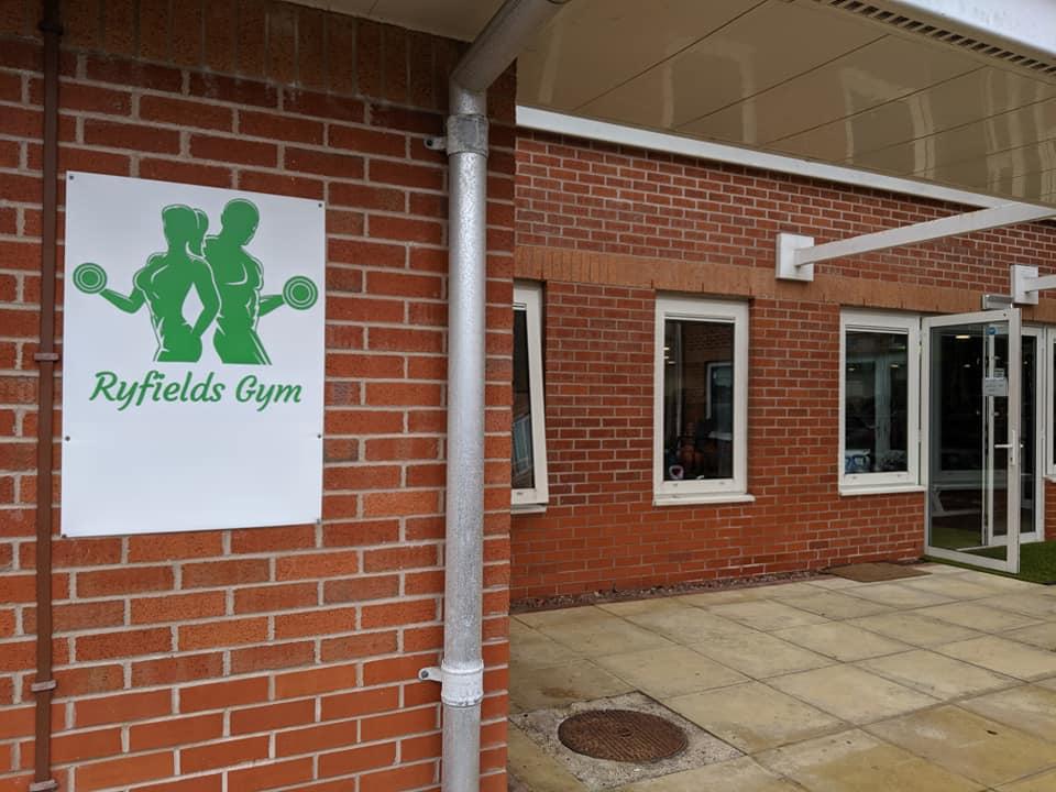 CNichols visit to Ryfields Gym2